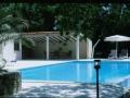 pool and pool-house