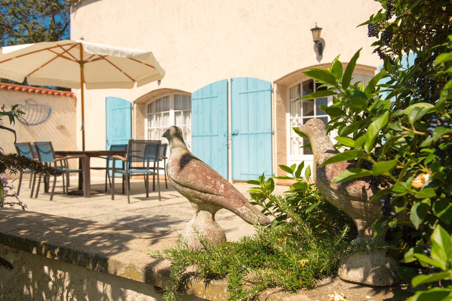 Gite Le Palmier terrace