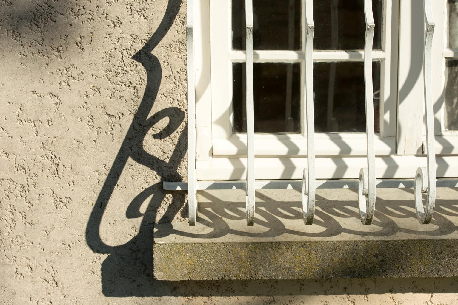 Gite Le Palmier window